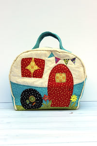 Happy Camper Bag Sewing Pattern - PDF -Sewing Pattern by Jennifer Jangles