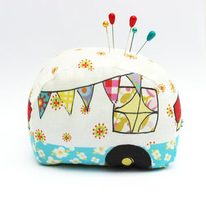 Happy Camper Pin Cushion Needlecraft - Kit -Sewing Pattern by Jennifer Jangles