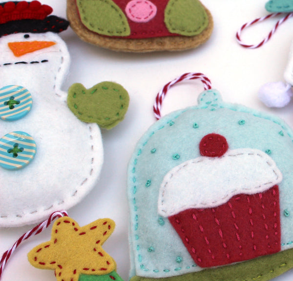 PDF Felt Holiday Ornaments