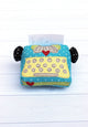 Junior Typewriter Softie / Pincushion Sewing Pattern by Jennifer Jangles