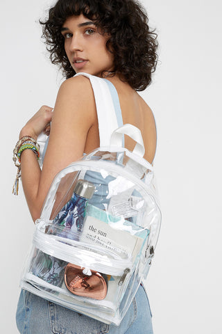 NWT Eastpak Transparent Backpack