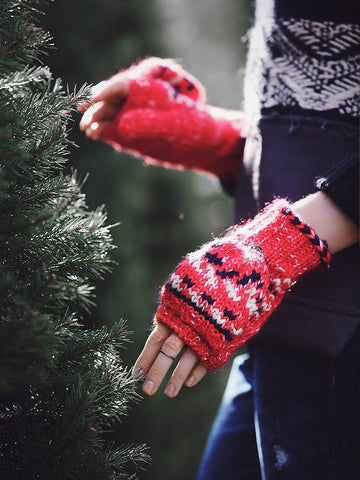 Free People Forester Fairisle Flip Glove
