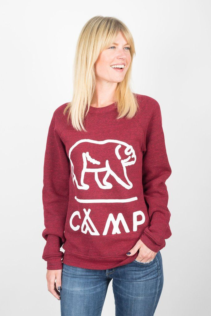 Camp Brand Grizzly Sweater Sz: S