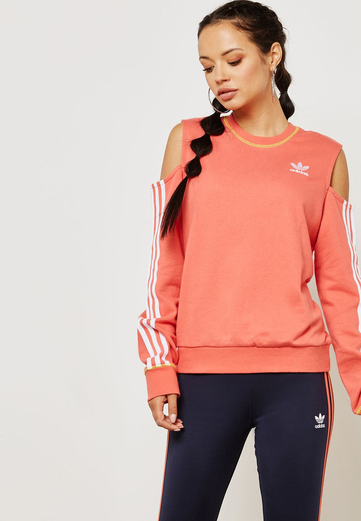 NWT  Adidas Cut-Out Sweater Sz S