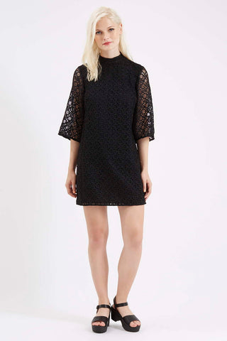 TopShop Bell Sleeve Lace Dress Sz. 10