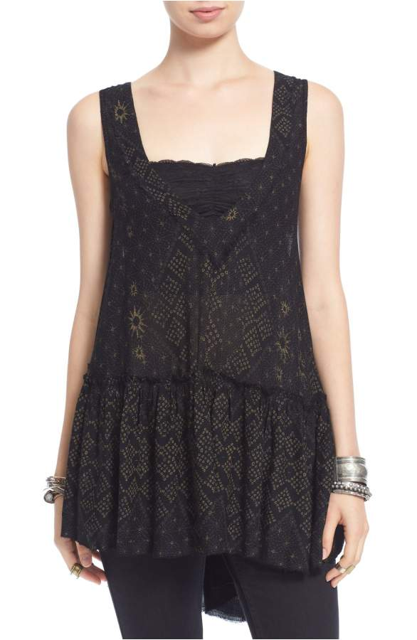 Free People 'Say It With a Layer' Top Sz: XS