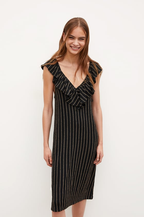 Zara Striped Dress Sz: L