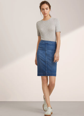 Wilfred Free Denim Skirt Sz: 0