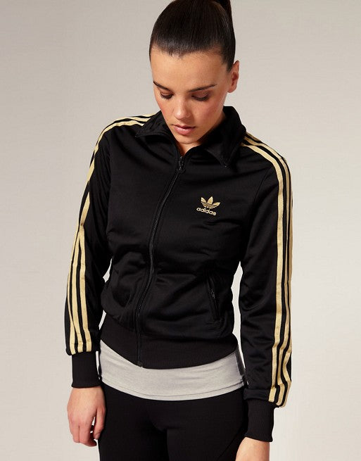 Adidas Gold Stripe Jacket Sz:M