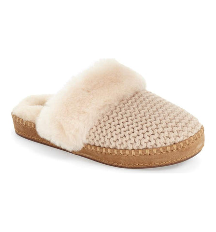 Ugg Aira Knit Scuff Slipper Sz: 6