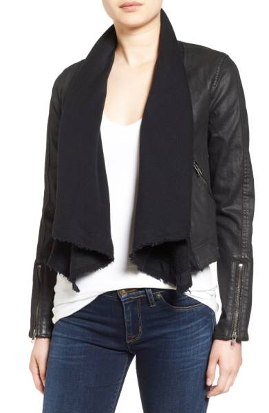 Free People Front Draped jacket 6