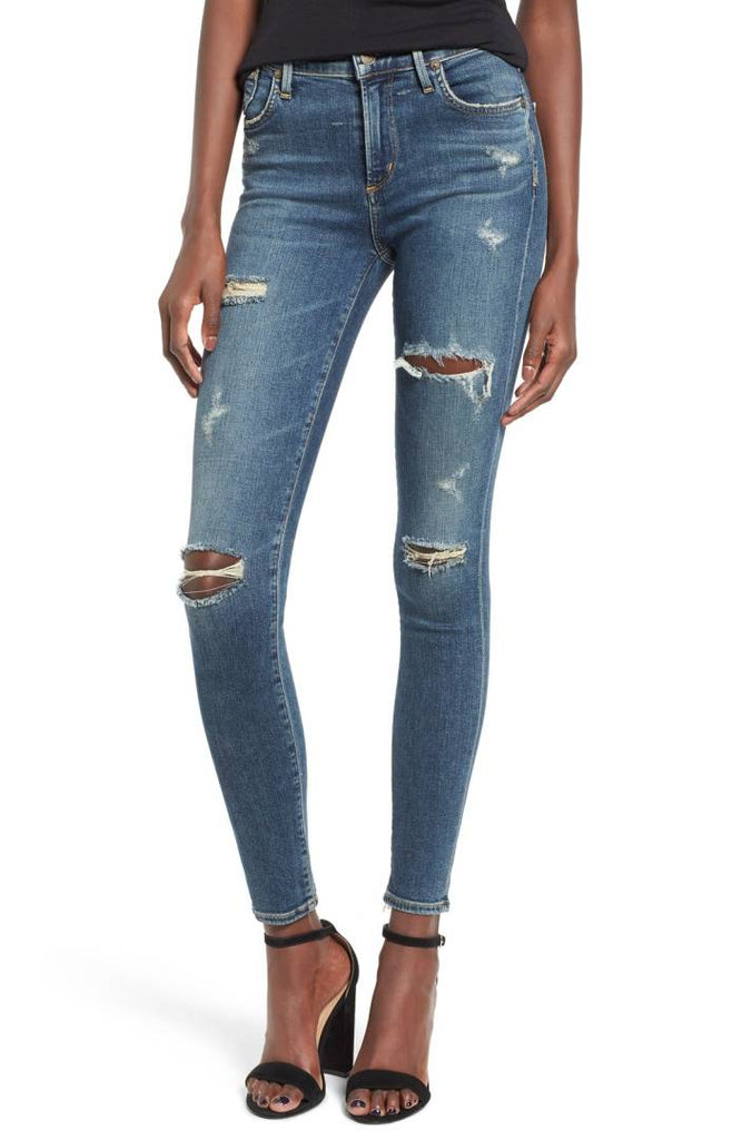 Agolde Sophie High Rise Skinny Size 26