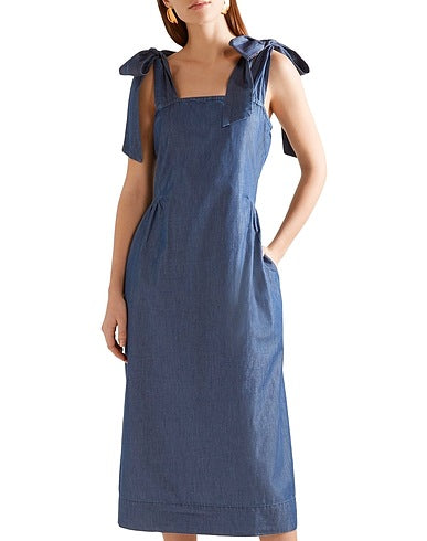 HATCH Denim Dress Sz: 0