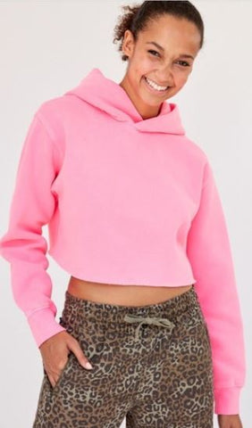 TNA Perfect Crop Hoodie Sz: