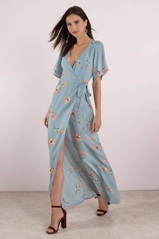 Tobi Layla Floral Maxi Dress Sz: XS