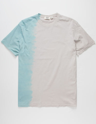 Hedge Unisex Split Tie Dye T-Shirt Sz: M
