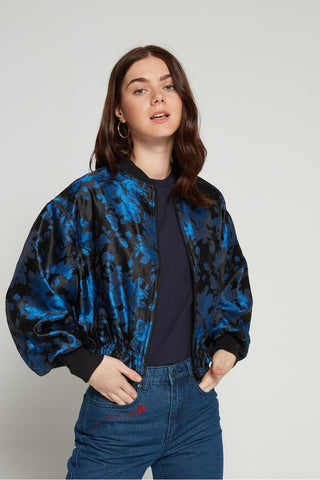 The Fifth Label Jacquard Bomber Sz. XS