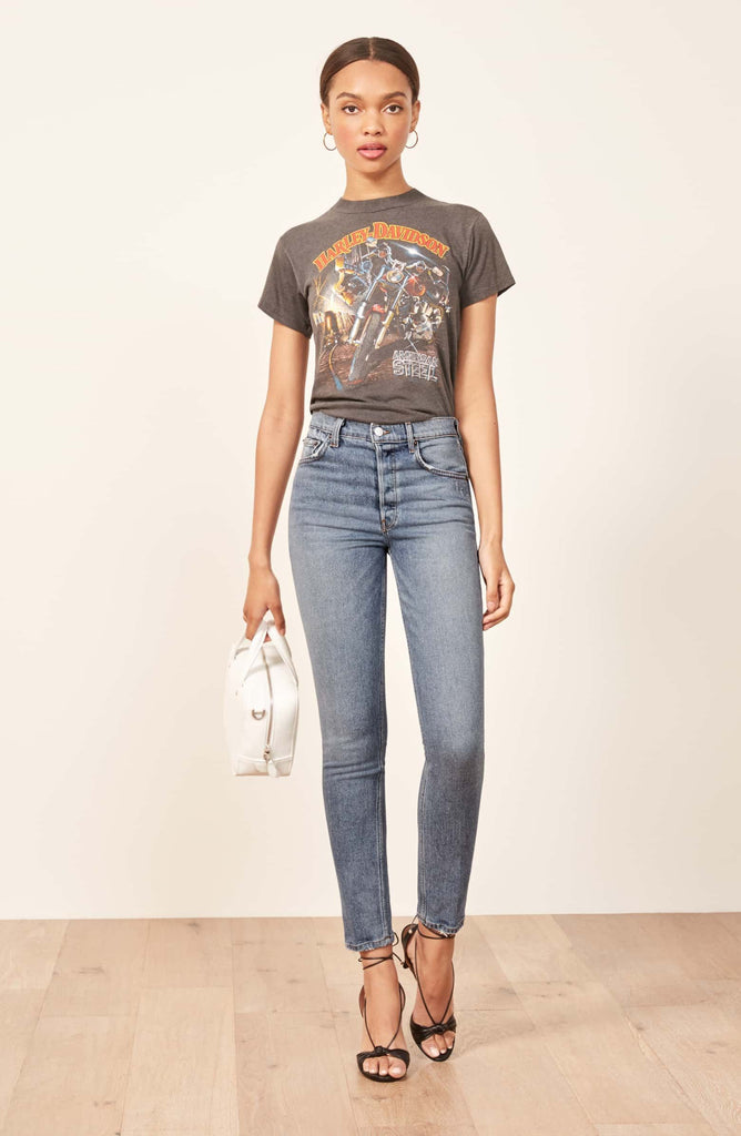 Reformation Serena High Rise Jeans Sz: 23