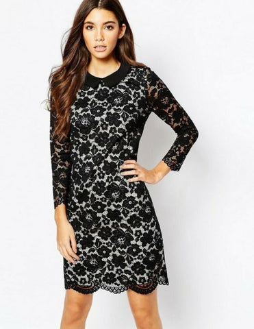 Ted Baker Floral Lace Dress Sz. S