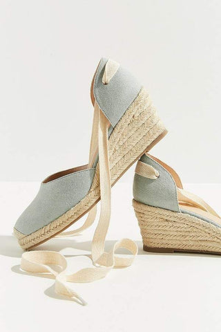 NEW! Urban Outfitters Espadrille Wedge Sz: 7
