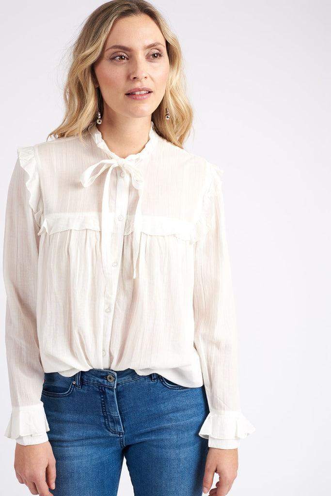 Soaked in Luxury Saylor Blouse Sz: L NWT!