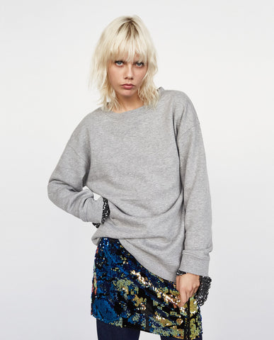 Zara Oversized Sweater Sz: S