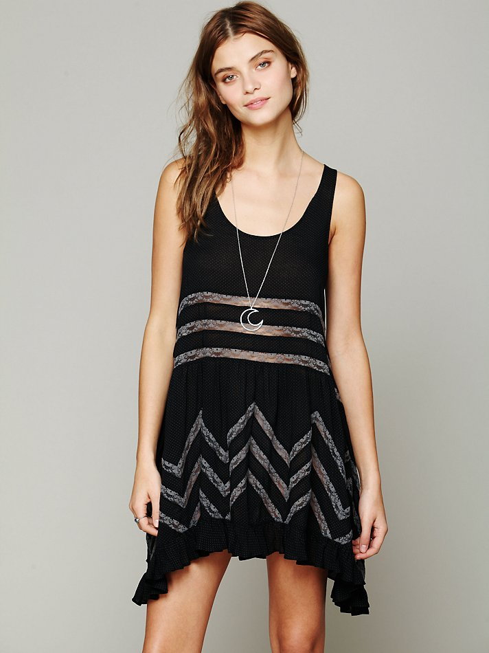 Free People Trapeze Dress Sz: XS