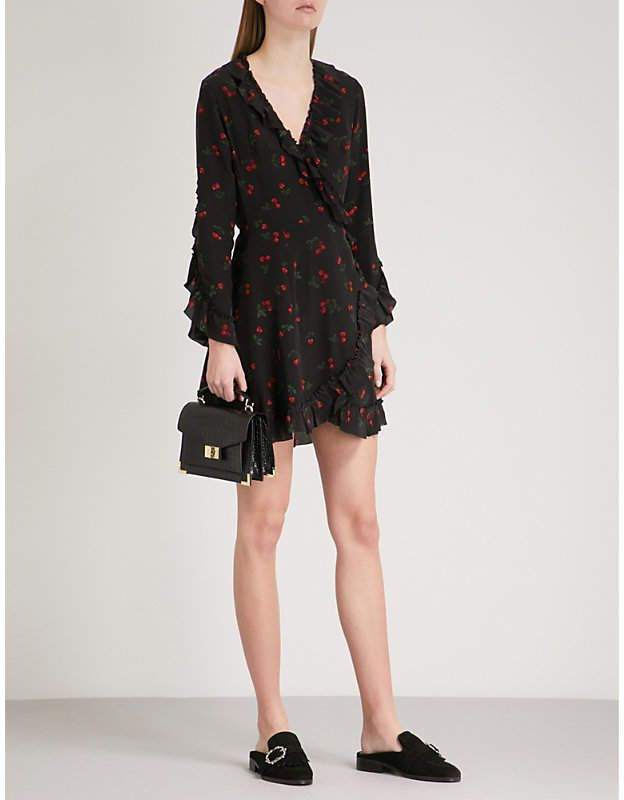 The Kooples Cherry Love Dress Sz 3 (M)