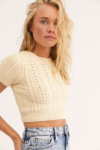 Intimately Free People Crop Sz: S