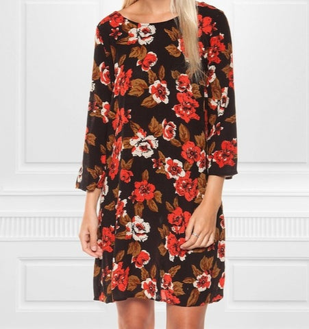 Dex Floral Dress Sz: M