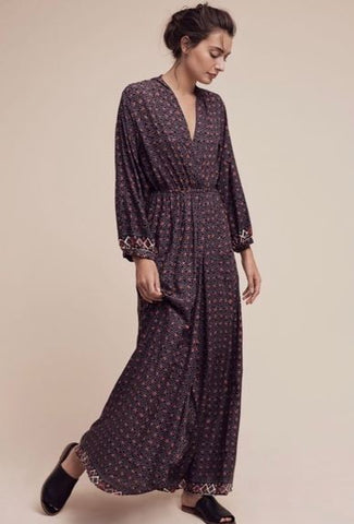 NAT by Anthropologie 'Nico' Wrap Dress Sz: S