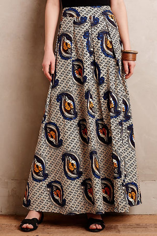 Anthropologie Maaike Maxi Skirt NWT Sz: 4