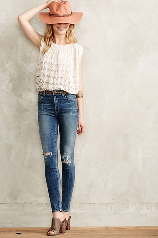 Citizens of Humanity Rocket High Rise Skinny Sz: 26