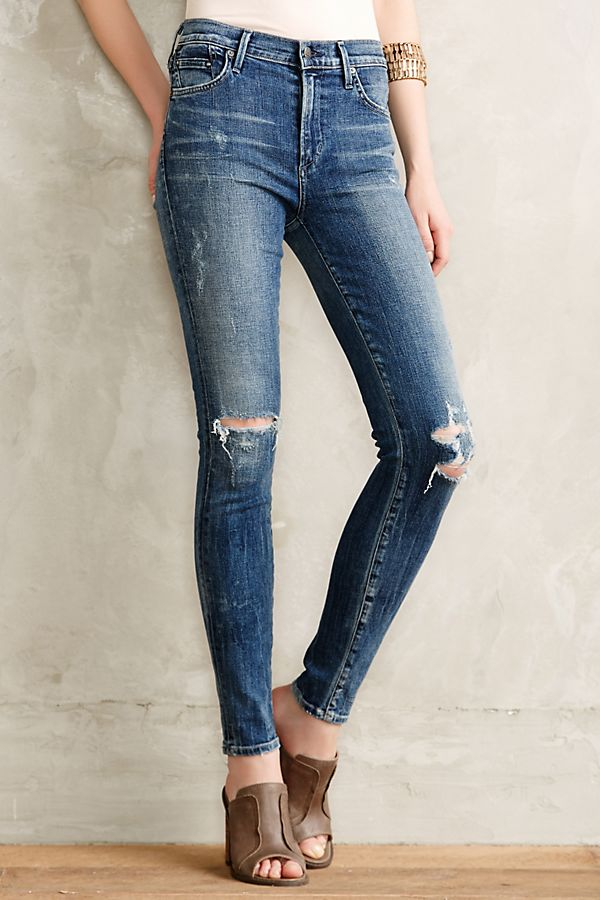 Citizen of Humanity Rocket High Rise Jeans Sz: 27