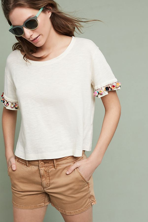 Anthropologie Pommed T-Shirt Sz: L