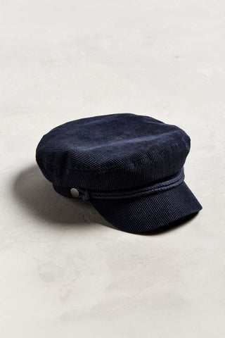 Urban Outfitters Corduroy Sailor Hat Sz: L/XL