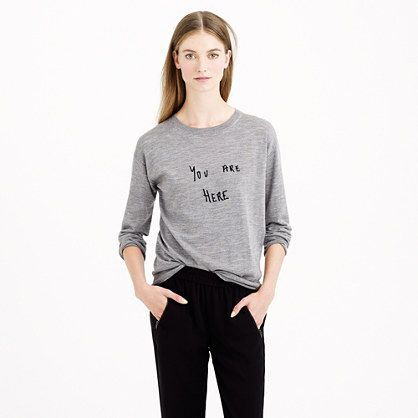 J. Crew You Are Here top Sz. S