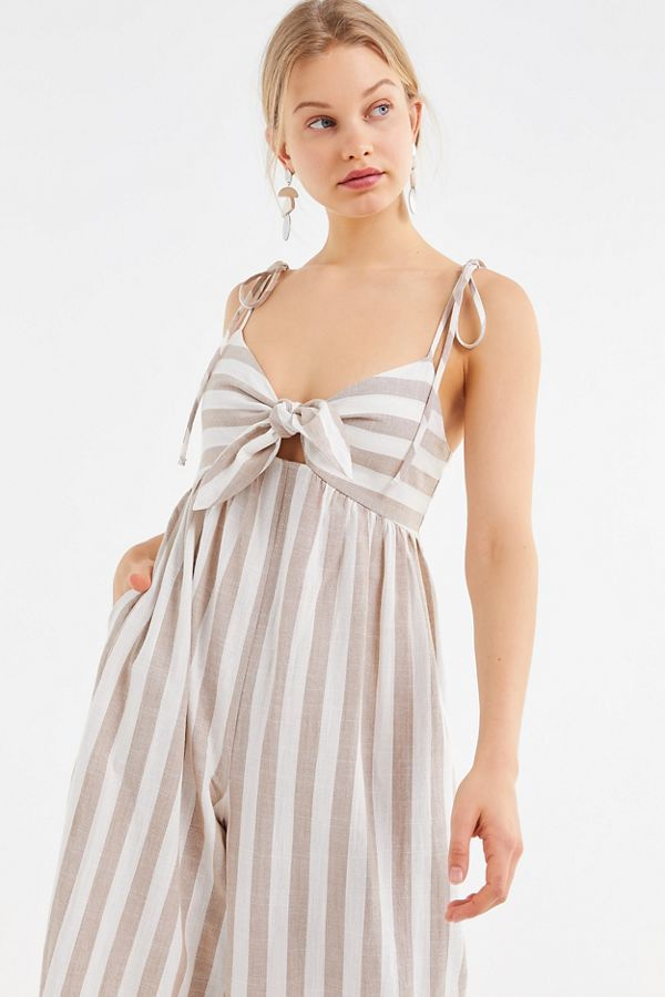 Urban Outfitters Stripe Pantsuit Sz: S