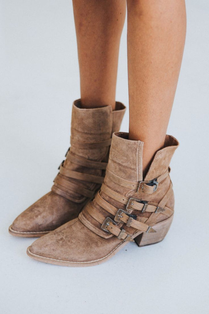 Free People Western Mason Boots Nude 39