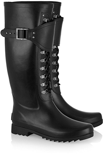 Ugg Womens Madelynn Boots in Black Sz: 8