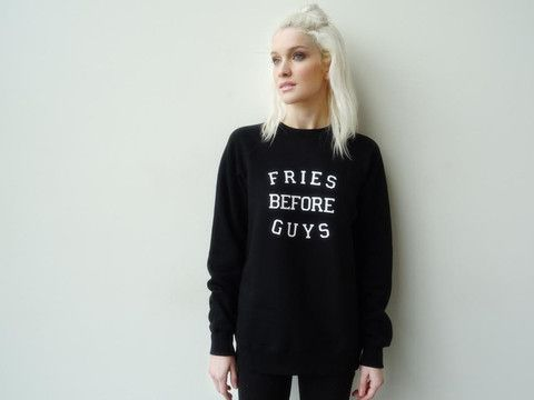 Brunette the Label Black Sweater  Sz: S/M
