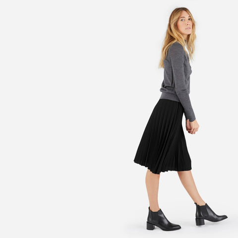 Everlane Pleated Skirt Sz 0