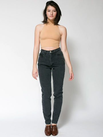 "American Apparel High-waist Jeans Sz"" 26"