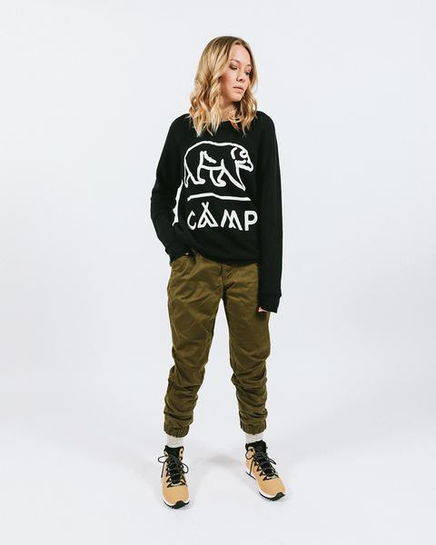 Camp Brand Grizzly Sweater Sz: XS