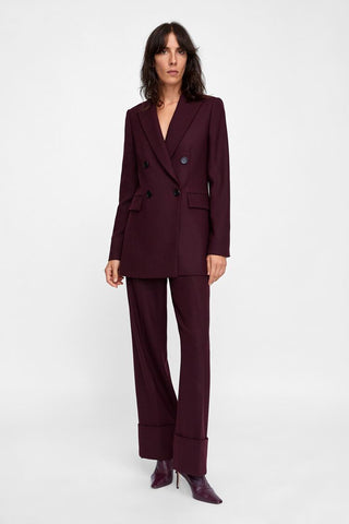 Zara Double Breasted Blazer Sz. S