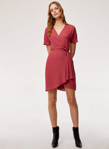 Babaton 'Wallace' Wrap Dress Sz: S -NWT!