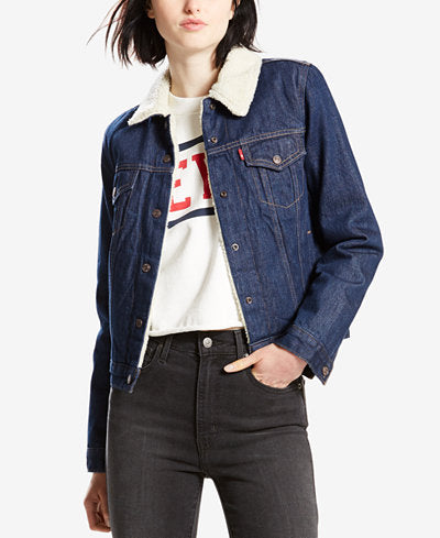 Levis Denim Jacket Sz:S