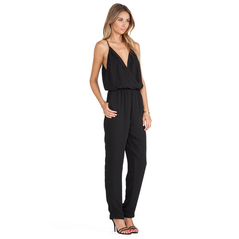 Eight Sixty Pleated Jumpsuit Sz:M