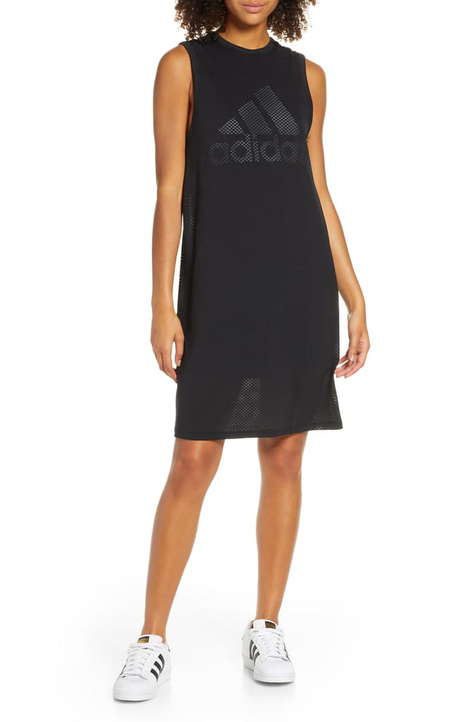 Adidas Logo Mesh Dress Sz: M
