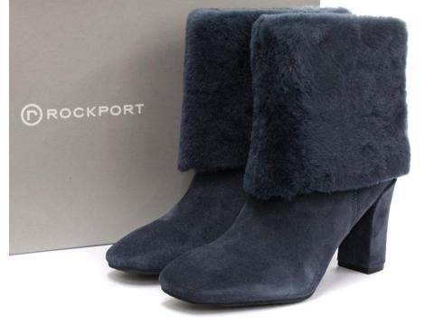 Rockport Helena Cuffed Booties Sz: 8.5